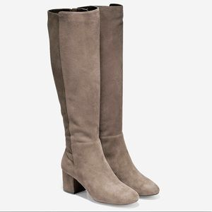 NWT Cole Haan Lyric Boot in Morel Suede Size 6.5